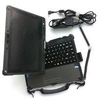 tabletas de nueva llegada al por mayor-Se utiliza baterías nuevas de la llegada ordenadores portátiles Getac V110 I5 8G Pantalla resistente velocidad rápida Tablet PC duales para la herramienta de diagnóstico automático