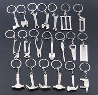 ingrosso portachiavi regolabile a chiave-Portachiavi Portachiavi regolabile in metallo Chiave inglese Creativo