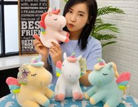 Wholesale free hot girl toy online - 20170634 New Hot Selling For girls present Important days can be sent Plush Toy Unicorn