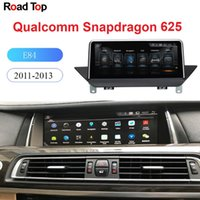 Wholesale bmw build for sale - Group buy 10 quot Android GPS Navigation Display for BMW X1 E84 Car With Knob Touch Screen Stereo Dash Multimedia Player