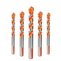 Wholesale twist drills for metal resale online - Round Shank HSS Coated Titanium Coated Twist Drill Bit For Sheet Iron Aluminum Copper Woodworking Metal Tool
