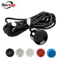 Wholesale monitor for parking sensors resale online - Rovtop Universal mm Parking Sensor With m Cable for Car Parking Sensor Kit Monitor Reverse System Z2