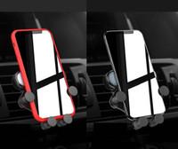 lüftungshalter großhandel-Dies ist ein Air Vent Mount Handyhalter für Smartphones Autohalterung Schwerkraftsensorhalterung Im Einzelhandelspaket