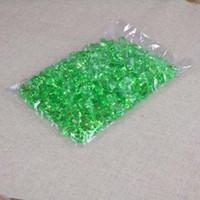 klarer grüner stein großhandel-6 Packungen zu 1000 Stück Acryl-Eiskristalle Ice Chips Stones klar rot Tisch streut Vase Aquarium Füllstoffe Home Party Shop Dekoration