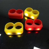 Wholesale Night running cycling essential shake vibration led luminous finger