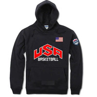 Wholesale team usa clothing for sale - Fashion brand spring autumn and winter men s hoodies hip hop sweaters men s color blue sand men s clothing USA Dream Team Dream men