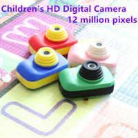 Wholesale 12 pixel camera resale online - Children s Camera D1 HD P Kids Digital Mini Camera inch Screen Million Pixels Long battery Life