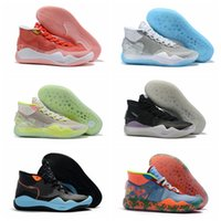 usa zapatos nuevos al por mayor-2019 New Durant KD 12 Anniversary University 12s MVP Hombres Zapatillas de baloncesto EE. UU. Elite KD12 Sport Sneakers Tamaño 40-46