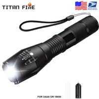 Outdoor Led flashlight 2000LM Ultra Bright linterna Waterproof Torch T6 Camping lights 5 Modes Zoomable Light