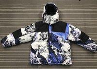 moda neve parka venda por atacado-Moda 17FW Down Jacket Marca montanha baltoro Windproof Grosso Casacos Parka Outono Inverno Brasão Neve Jacket