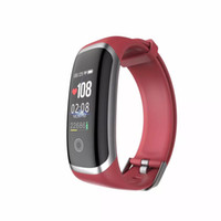 Wholesale the apple watch resale online - one M4 Smart Band Fitness Tracker Watch Sport bracelet Heart Rate Smart Watch the best Smartband Monitor Health Wristband