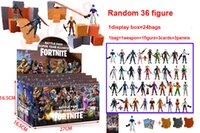 Wholesale cartoon online - 100types Action Figure Cartoon Plastic Doll toys kids cm cm inch game llama skeleton role Child Toy with display box bags DHL