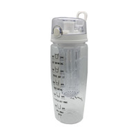 Wholesale sport suits for sale resale online - Hot Sale Plastic Cup Shaker Plastic Leakproof Drinking Water Cup Suit For Sports Water Bottle