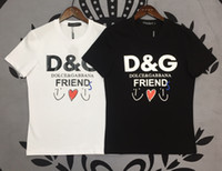 çeşitli markalar toptan satış-Dolce Gabbana t gömlek DG tshirt mens yeni marka tişörtleri pamuk t-shirt sıcak satış rahat t shirt kaliteli gömlek çeşitli renk stil tops