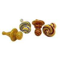 Wholesale bowl hats for sale - Group buy Factory Price Hat Style Sombrero mm mm OD Class Carb Caps Glass Bongs Smoking Pipes Quartz Banger Nail Glass Banger Bowls Carb Caps