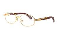 qualidade de óculos de sol de bambu venda por atacado-Búfalo chifre óculos de madeira óculos de sol para homens 2019 alta qualidade marca designer de bambu moldura de madeira marrom lentes claras rodada óculos de sol