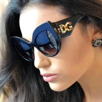 Wholesale square pendant frames for sale - Group buy Luxury sunglasses cat eye sunglasses gorgeous Pendant drill women sunglasses Fashion driving vacation beach glasses color
