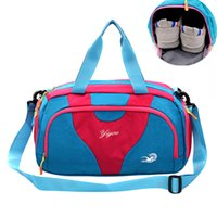 Wholesale shoes for swimming resale online - Waterproof Dry Wet Separation travel Swimming Bag Patch Outdoor Sports Beach Bath Storage Bag For Shoes Women Fitness B155
