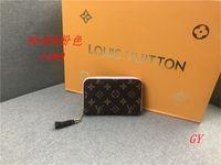 Wholesale quality ladies clutch wallet resale online - New Fashion Men s and Women s wallet Women s Wallet Quality Leather Men s and Women s General Clutch Bag HY508646 Ladies handbag