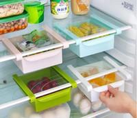 dosen speichern großhandel-Kühlschrank Aufbewahrungsbox Küchenzubehör Platzsparende Dosen Finishing Four Case Organizer Kreative Twitch Typ Handschuhfach