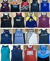 ingrosso cowboy nero camicia xxl-2019 Rugby Vest All Blacks Maori West Tigers Broncos Cowboys Marron Holden Crusaders Chiefs Irlanda Scozia Fiji Australia Tonga T-shirt