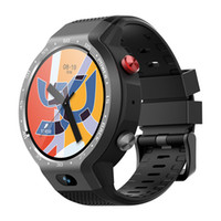 akıllı saatli telefon android wifi toptan satış-Z30 çift sistemi 4g smart watch telefon android 7.1 5mp ön kamera 600 mah destek gps wifi kalp hızı smartwatch pk lem9