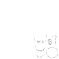 piercing ketten schmuck großhandel-100% 925 Sterling Silber Bär Ohrstecker Lange Ohrringe Modeschmuck 2019 Elegante Schlüsselbein Kette Halskette Armband Ring