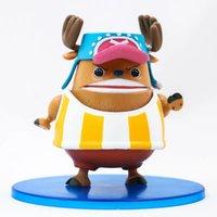 ingrosso figura di azione del chopper tony-One Piece Anime modello figura Tony tony Chopper Umano-Umano Frutta 10cm bambole giocattoli azione regalo regalo per bambini PVC