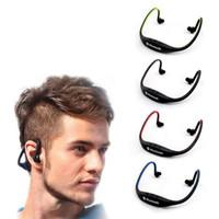 auriculares samsung s6 al por mayor-S9 Sport Wireless 4.0 Auriculares Bluetooth Auriculares Portátiles Banda para el cuello Auriculares HIFI Reproductor de música para Samsung S8 Galaxy S4 S5 S6 Note4