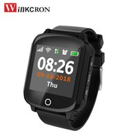 Wholesale elderly watches for sale - Group buy Elderly Heart monitor Smart Watch D200 IP68 GPS LBS Wifi Location Track Anti lost Smartwatch Heart Rate Monitor fall down alarm