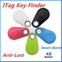 verloren schlüssel finder iphone groihandel-Neueste Schlüssel ITags Smart Key Finder Bluetooth-Locator Anti-verlorene Alarm Kind Tracker Fernbedienung Selfie für iPhone IOS Android Samsung S10
