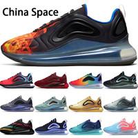 nouvelles chaussures femme chine achat en gros de-2019 nouvelles chaussures de course des hommes de 720OG rouge de l'équipe spatiale chinoise être vrai throwback futur Noir Neon Mèches hommes femmes chaussures de sport de marque 36-45