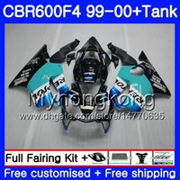 Wholesale 99 honda cbr f4 fairings resale online - Bodys Repsol CYAN stock Tank For HONDA CBR F4 FS CBR F4 CBR600F4 HM CBR600FS CBR600 F CBR600 F4 Fairing kit