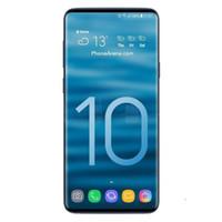 dual core smart phone 4g venda por atacado-Atacado Goophone S10 6.3 polegadas suporte Dual Sim cartão Quad Core Android 1G Ram 8G Rom telefone falso 4G telefone inteligente