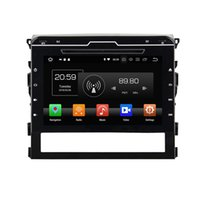 Wholesale mirror land resale online - 4GB RAM GB ROM Octa Core quot Android Car DVD Player for Toyota Land Cruiser Radio GPS Bluetooth WIFI USB Mirror link