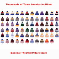 Wholesale american football beanie for sale - Group buy 2020 New Arrival Beanies Hats American Clearlove Football All teams Beanies Sports winter Warm knitted caps Beanie Top quality Caps