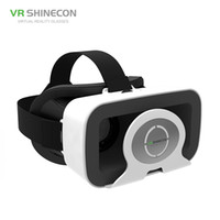 Wholesale virtual reality games for android resale online - SC G03R VR Shinecon Virtual Reality VR Glasses Headset Online D Moives Games Helmet for iPhone Android quot Smart Phone
