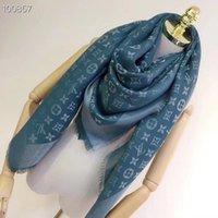 ingrosso sciarpa di seta cravatta quadrata-Sciarpa alta qualità per donna lana cachemire filo d'oro sciarpa Sciarpa donna marca sciarpe 2018 moda piazza sciarpe taglia 140x140cm A-d2