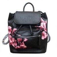 ingrosso borse da zaino in pelle per le ragazze-2019 Fashion Women marca zaino PU borse a tracolla in pelle ragazza cartella BAG307