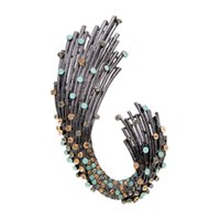 bafed3dc1f6 New Star Luxury Rhinestone Brooches for Women Elegant Coat Accessories High  Quality Large Pins Accessories Gift 2019