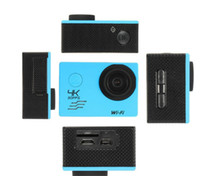 Wholesale 24fps camera resale online - HD K Waterproof Camera fps SJ8000 WiFi Sport Action Camera P fps LCD D Lens Helmet mini Camcorder DVR