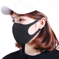 Wholesale face stock resale online - In Stock Anti Dust Face Mouth Cover PM2 Mask Respirator Dustproof Anti bacterial Washable Reusable Ice Silk Cotton Masks Tools RRA1365