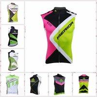 Wholesale merida cycle tops online - 2019 MERIDA team Cycling Sleeveless jersey Vest Summer Bike Outdoor Sweatshirt Fashion Comfort for men