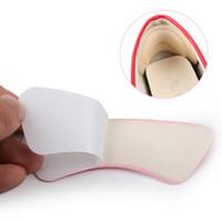 inserções do protetor do calcanhar venda por atacado-Calcanhar Almofadas Almofadas de Salto Sapato Apertos Forro Auto-Adesivo Palmilhas Sapato Inserções Adesivos Cuidados Com Os Pés Protetor de Cuidados Com Os Pés Ferramenta