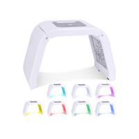Korea Portable OMEGA Led Light Therapy Machine 7 Colors PDT Photon For Acne Treatment Pigmentation Correction