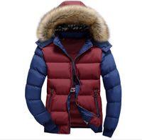 diseñador de la marca abrigos para mujer al por mayor-Las mujeres 2019 del diseñador del Mens chaquetas abrigos de invierno de lujo de invierno Marca Chaqueta impermeable mujeres de la manera adelgazan la capa chaquetas rompevientos tamaño S-7XL