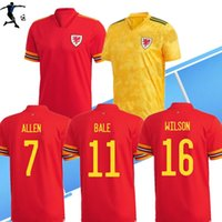Wholesale euro soccer for sale - Group buy S XL wales soccer jersey Euro cup wales Men kids football shirt BALE JAMES maillot de foot RAMSEY Camisetas