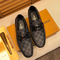 Wholesale crocodile loafers men resale online - 2019 Men Fur Loafers Leather Moccasin Crocodiles Style Footwear Fashion Slip On Flat Driving Casual Shoes Plush Classical Male