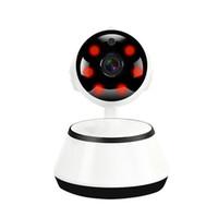 Wholesale ptz cctv resale online - CCTV P WiFi Mini Baby Monitor Wireless IP Camera PTZ P2P Surveillance Security Home Video Monitor Night Vision V380
