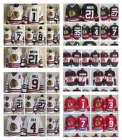 Wholesale marian hossa black jersey for sale - Group buy Fashion Retro Chicago Blackhawks Jerseys Patrick Kane Marian Hossa Andrew Shaw Jonathan Toews Red Mens Stitched Throwback Hockey Jerseys